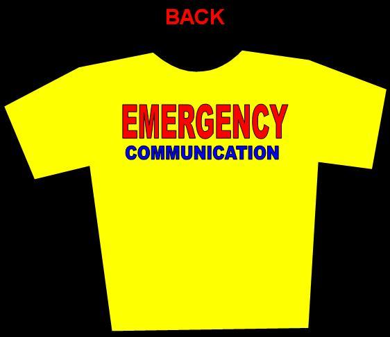 Round Neck Shirt - Back