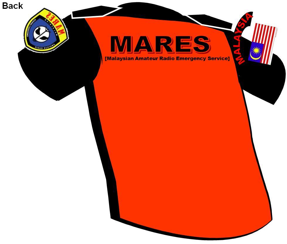 MARES Shirt - Back